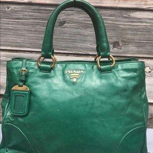 Authentic Prada Leather Bag